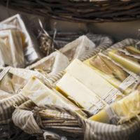 28954139 - artisan soap in a medieval fair