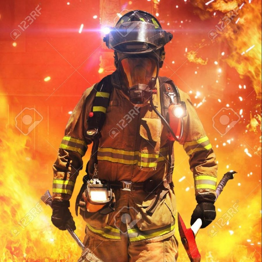 21777108-firefighter-searching-for-possible-survivors-with-tools-tacticle-lighting-and-thermal-imaging-camera